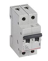Выключатель автоматический двухполюсный RX3 4,5 кА C 40 А