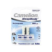 Аккумулятор CAMELION NH-AAA900ARBP2 AlwaysReady Rechargeable AAA 1.2V 900 mAh 2 шт. Блистер