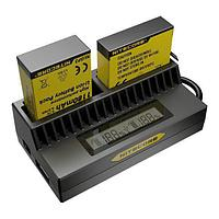 Зарядка для GoPro от 12V и 220V  Deluxe  DLGP-401  Hero 4  Переходник на евро-розетку в комплекте