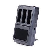 Зарядка для 3 батарей GoPro от USB Deluxe DLGP-404 Hero 4 Чёрный, фото 1
