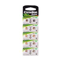Батарейка CAMELION AG2-BP10(0%Hg) Alkaline AG2 1.5V 0% Ртути 10 шт. Блистер