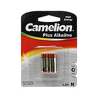 Батарейка, CAMELION, LR1-BP2, Alkaline, Тип N, 2 шт., Блистер