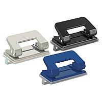 Дырокол ErichKrause® 4560 Quadro до 10 листов (в коробке по 1 шт.) ассорти