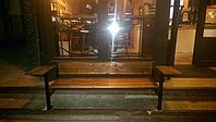 Скамейка для кафе Скамейки уличные, фото 1