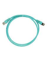 3M FQ100007381 Коммутационный кабель кат. 6А  экранированный  S/FTP  RJ45-RJ45  бирюзовый  LSZH  2 м /