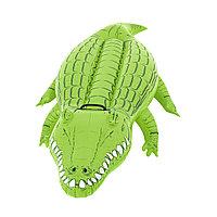 Надувная игрушка для катания верхом Крокодил 168 х 89 см BESTWAY 41010 Винил С ручкой Зеленый Цветная коробка