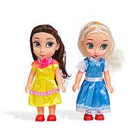 Набор мини-кукол 16см , X Game kids, 8229, Серия Лили - маленькая принцесса, В комплекте 2 миникуклы, Пластик,