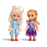 Набор мини-кукол 16см , X Game kids, 8231, Серия Лили - маленькая принцесса, В комплекте 2 миникуклы, Пластик,