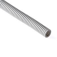 Труба гофрированная РУВИНИЛ 11601 16мм ПВХ с зондом легкая Серый 100 м/б