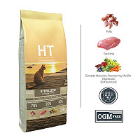 Сухой корм для для кастрированных котов и стерилизованных кошек HT Cat Sterilized Pollo E Tacch 33/10 (курица)