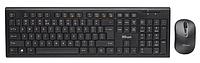 Комплект клавиатура+мышь Trust RU NOLA WLESS черный