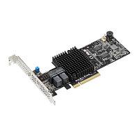 Контроллер ASUS PIKE II 3108-8-8I-port Internal SAS12G RAID Card 1GB Cache,  90SC06G0-M0UAY0