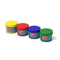 Пальчиковые краски ArtBerry® 4 баночки по 35г с 5 трафаретами и 4 спонжами (коробка)