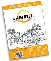 Пленка для ламинирования Fellowes Lamirel А4, 100мкм, 100 шт.