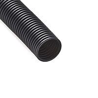 Труба гофрированная РУВИНИЛ 25001 50мм ПНД с зондом легкая Безгалогенная Чёрная 15 м/б