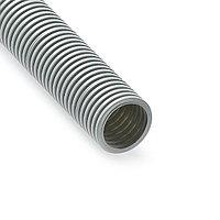 Труба гофрированная РУВИНИЛ 14001 40мм ПВХ с зондом легкая Серый 15 м/б