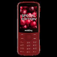 Мобильный телефон Nobby 220 вишня