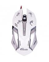 Мышь проводная RITMIX ROM-360  белый