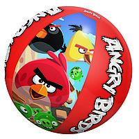 Надувной пляжный мяч Angry Birds 51см BESTWAY 96101 Винил Красно-синий Цветная коробка