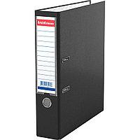 Папка–регистратор с арочным механизмом ErichKrause® 43516 Granite А4 70 мм черный