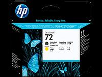 Печатающая головка HP C9384A Matte Black and Yellow №72