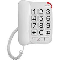 Телефон проводной Texet TX-201 белый