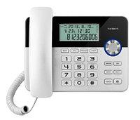 Телефон проводной Texet TX-259 черный-серебристый