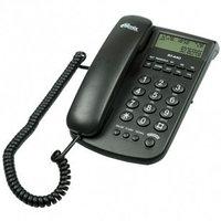 Телефон проводной Ritmix RT-440 черный
