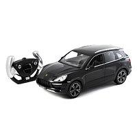 Радиоуправляемая машина RASTAR 42900B 1:14 Porsche Cayenne Turbo Пластик 27 Mhz Чёрный