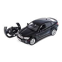 Радиоуправляемая машина RASTAR 31400B 1:14 BMW X6 Пластик 27 Mhz Чёрный