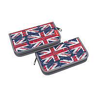 Пенал-книжка без наполнения ErichKrause®110x205x25мм British Flag