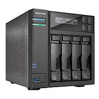 Сетевой накопитель ASUSTOR AS3204T v2, 4-Bay NAS, Intel Celeron Quad-Core, 2 GB DDR3L, GbE x 1, USB 3.0, WoL, Спящий режим, AES-NI аппаратное