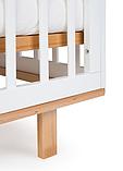 Кроватка-трансформер Happy Baby Mirra белый, фото 2
