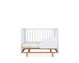 Кроватка-трансформер Happy Baby Mirra белый, фото 3