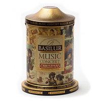 Чай чёрный рассыпной Праздничная Коллекция Музыкальная шкатулка Music concert christmas, 100гр Basilur