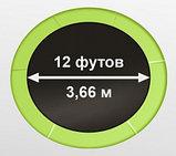 Батут Oxygen Fitness Standard 12 ft inside (Light green), фото 2