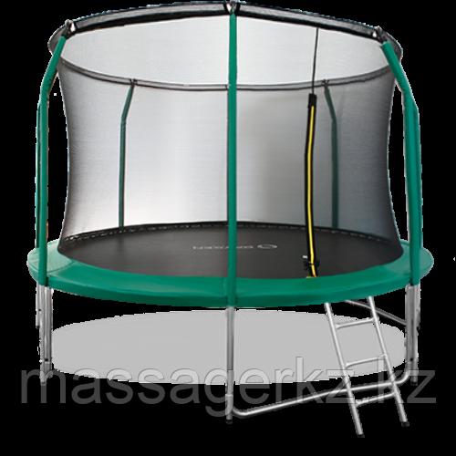 ARLAND Батут премиум 16FT с внутренней страховочной сеткой и лестницей (Dark green)