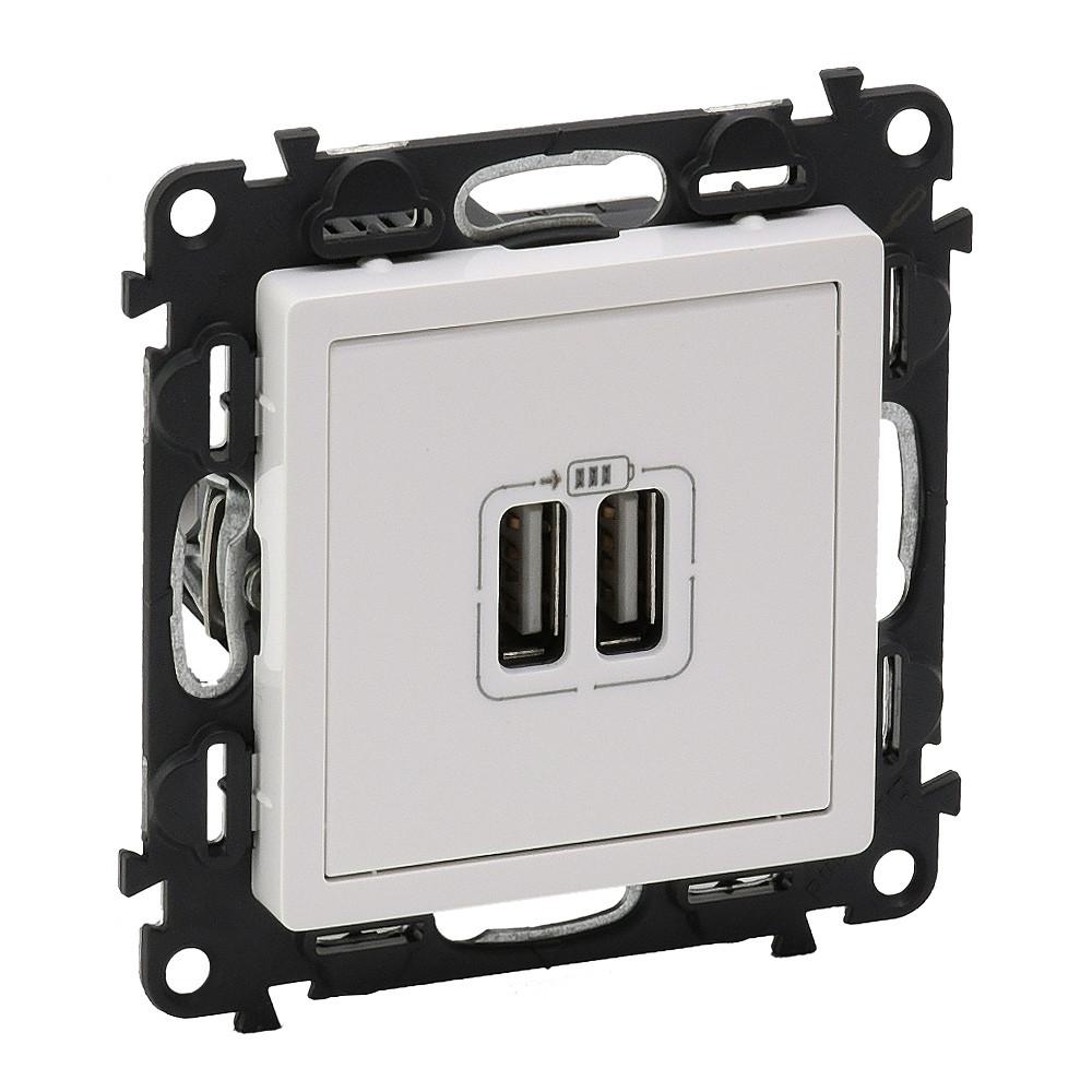 VLN-I Бел Роз 2*USB зарядка /753412/