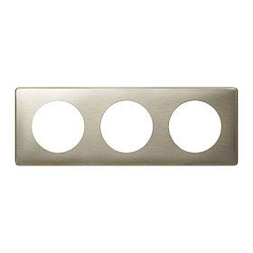 Celiane Рамка 3п (6м) Титан /068903/