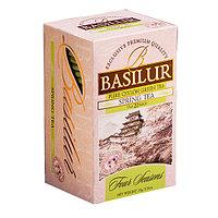 Чай зелёный пакетированный Четыре сезона Весенний Чай Spring Tea, 20пак Basilur