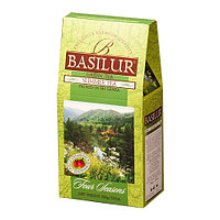 Чай зелёный рассыпной Четыре сезона Летний чай Summer Tea, 100гр Basilur