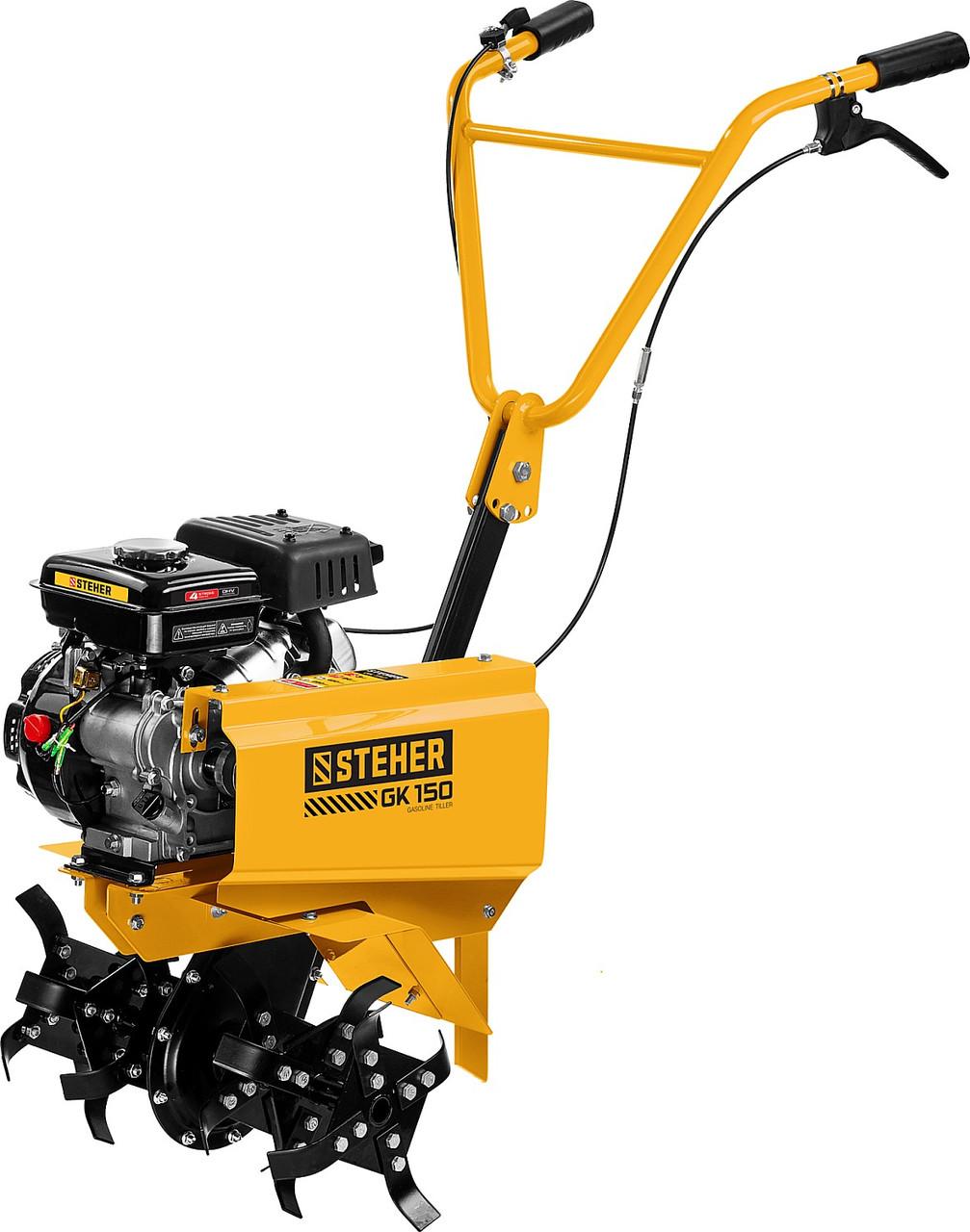 Культиватор бензиновый, STEHER GK-150, 94 см3,