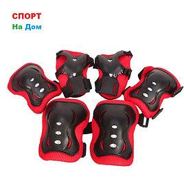 Защита для роликовых коньков детская (цвет черный, размер S)