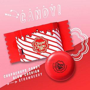 Тональная основа-кушон Chupa Chups,Candy Glow Cushion SPF50+ PA++++( 1.0 Ivory), фото 2
