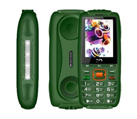 Мобильный телефон BQ-2825 Disco Boom тёмно-зелёный