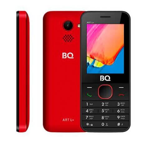 Мобильный телефон BQ-2438 ART L+ Красный