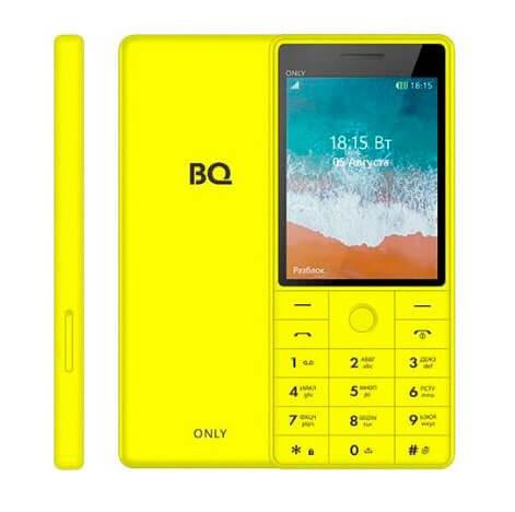Мобильный телефон BQ-2815 Only Жёлтый