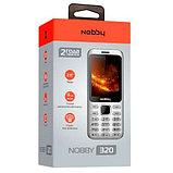 Мобильный телефон Nobby 320 серебро, фото 3