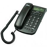 Телефон проводной Ritmix RT-440 черный, фото 2