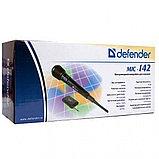 Микрофон вокальный Defender MIC-142, черный, 64142, фото 3
